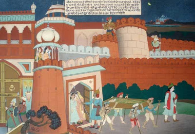 burial of Shah Jahan