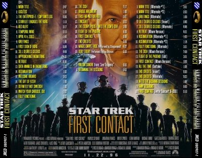 Star Trek(R) First Contact sheet music for piano