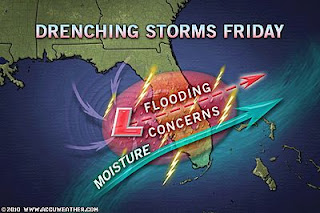 >Florida Soaking to Interfere with Spring Break