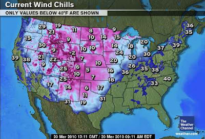 >20 March, 2009: Blizzard conditions today in OKC after 73-degree high yesterday