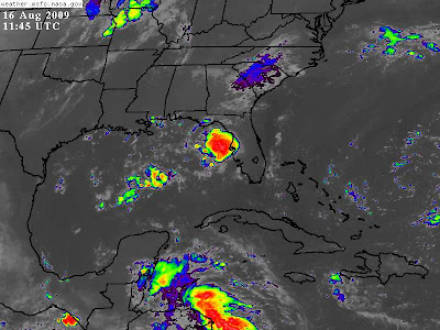 >Tropical Depression four to make landfall on Fla. Panhandle as T.S Claudette