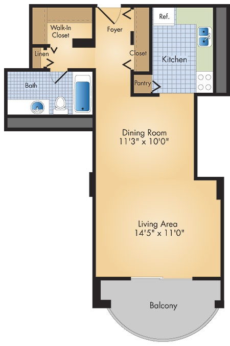 Design Ideas For Studio Apartments