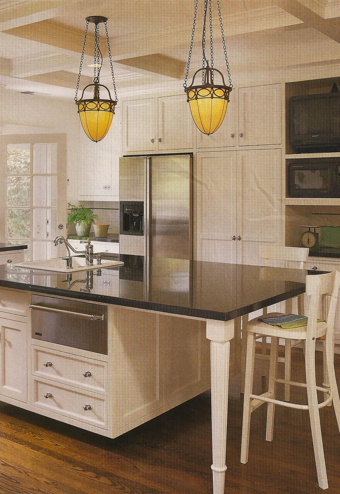 white kitchens: always classic