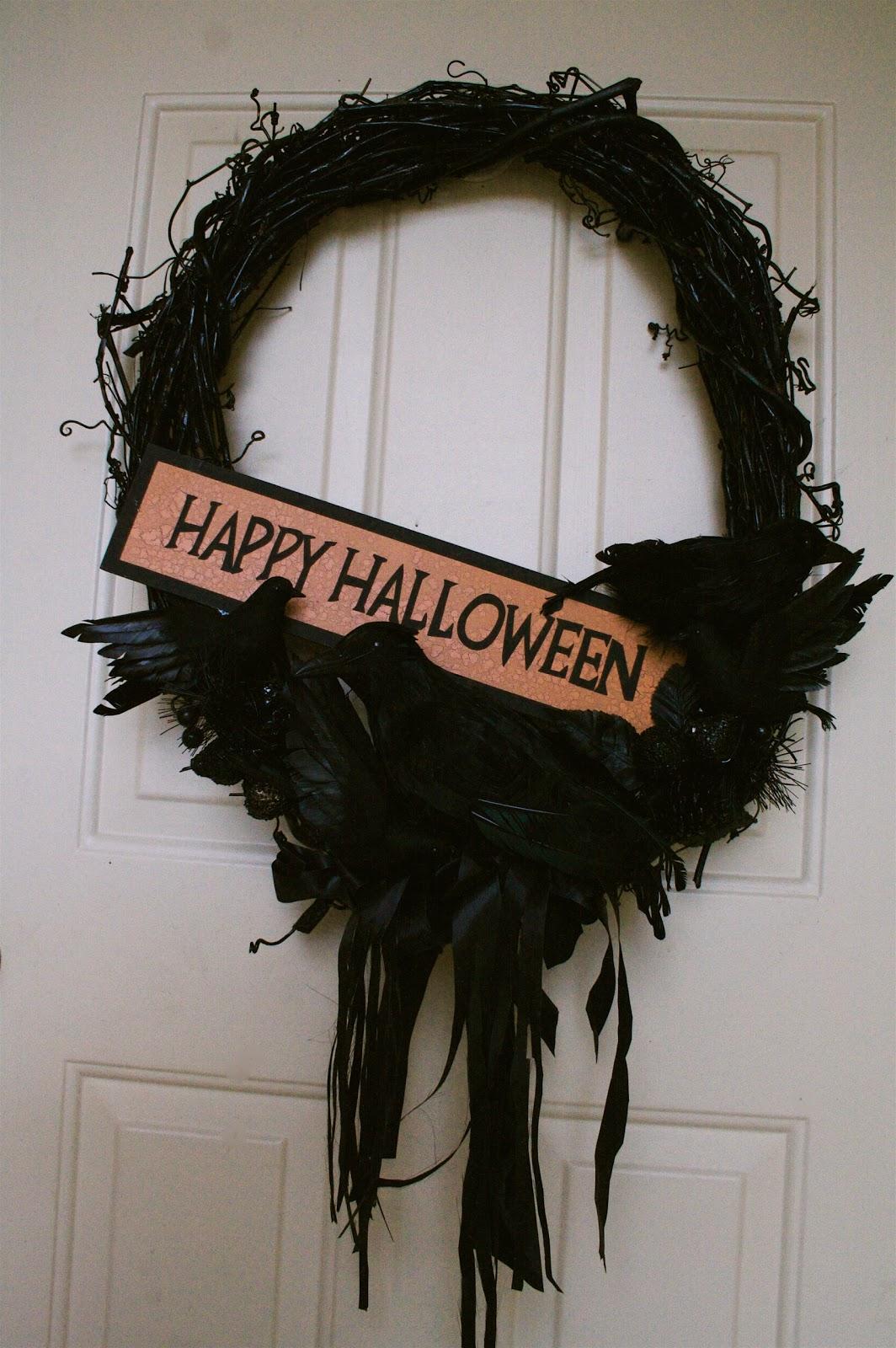 Design Dump Spooky Cheap Halloween Wreath