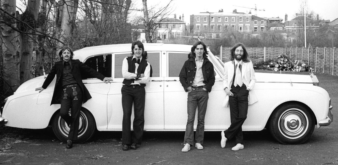 60x50: the search for john and yoko's white rolls royce goes on