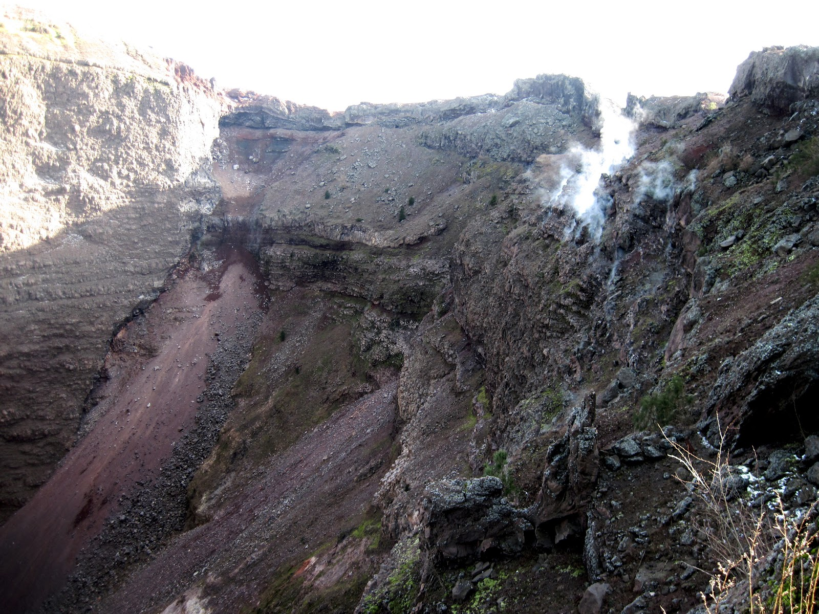 mt vesuvius effects on surrounding areas