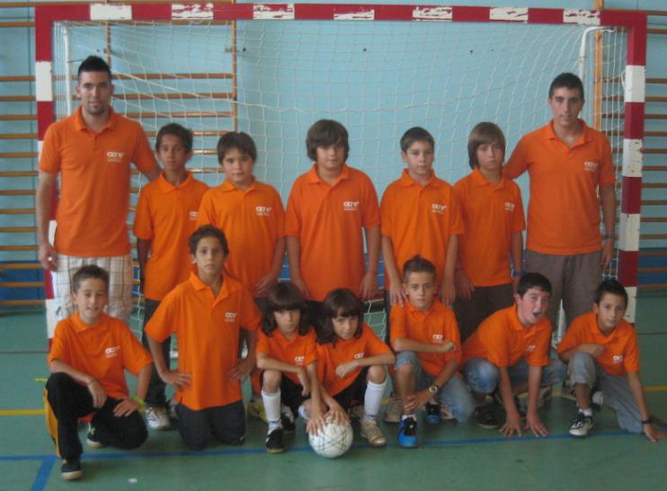 """Alevin """"A"""" CET 10 2009-2010"""