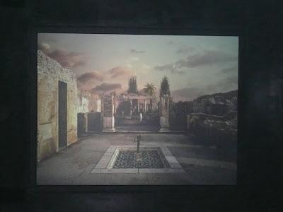 Reconstrucció virtual de la Casa del Faune de Pompeia