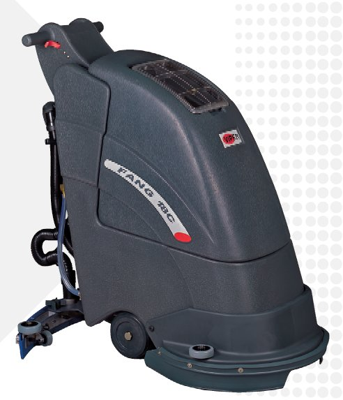 Floor scrubber viper fang 18 c electric automatic floor for Floor zamboni