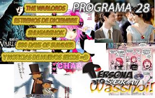 Persona No Sekai Wasshoi! Programa 28 PodCast Anime