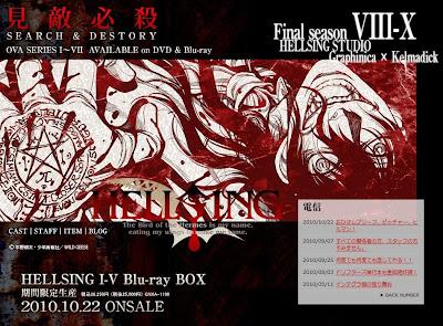 Hellsing Ultimate Final Season temporada final Ovas