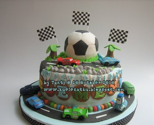 Soccer Birthday Cake Decorations