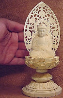 Buy beautiful wooden Buddhist statues from Japan