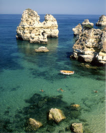 Camilo Beach Lagos Algarve - copyright Jean Kugler