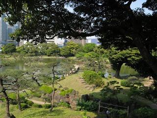 Kyu-Shiba Rikyu Garden, Tokyo