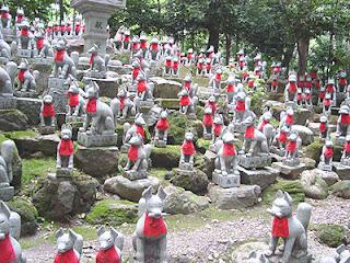 Reiko-zuka, Toyokawa Inari