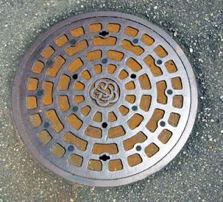 Kanazawa manhole.
