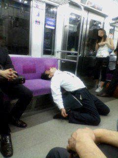 Drunk in Japan