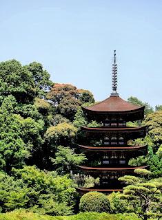 Ruriko-ji Temple in Yamaguchi City
