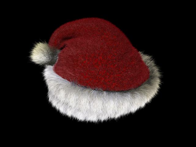Real santa hat png
