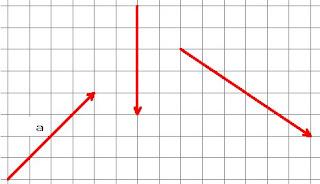 gambar panah dengan grafik