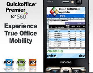QuickOffice Premier Upgrade v6.0.263 S60v3