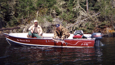 Red Lake Ontario fishing map