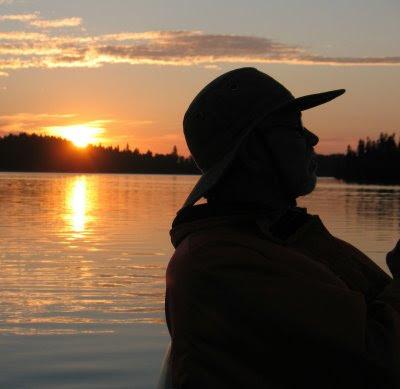 Dan Baughman fishing