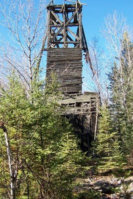 Miles Mine headframe