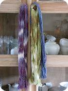 Sun Dyeing Yarn Tutorial