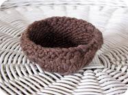 Knitted Easter Nest or Basket Pattern