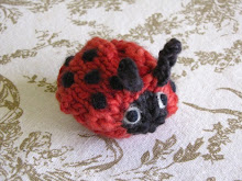 Knitted Ladybug Pattern