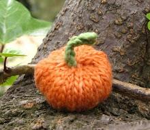 Autumn Knitted Pumpkin Pattern