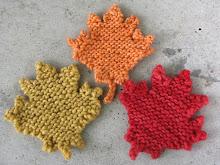 Autumn Maple Leaf Knitting Pattern