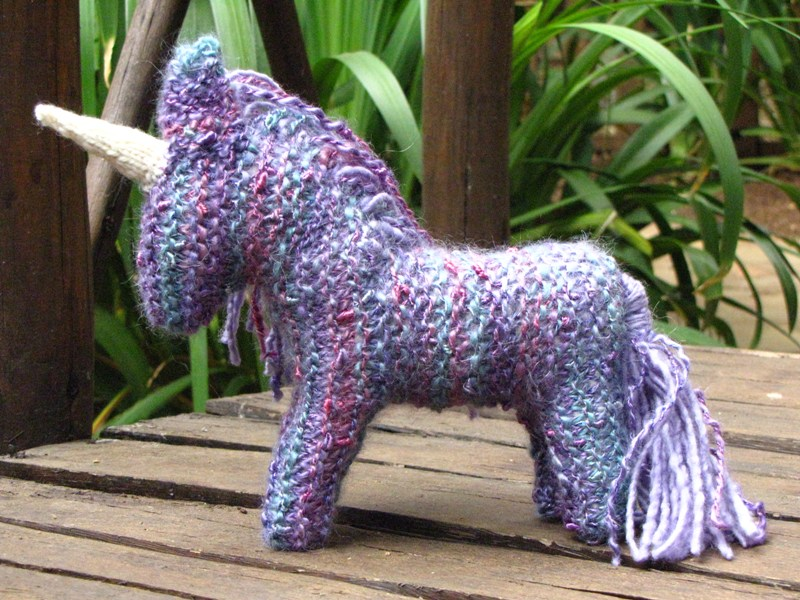 Knit Unicorn Horn Pattern : Mamma earth knitted unicorn giveaway natural suburbia