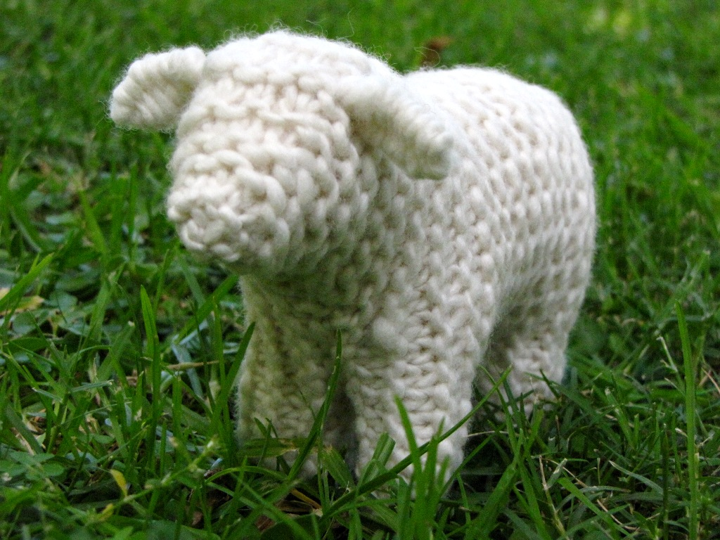 Plymouth Yarns Free Knitting Patterns : Knitting Sheep, The Pattern Thought Process... - Natural Suburbia