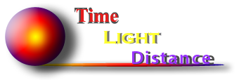 Time - Light - Distance (custom header)