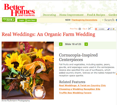 Better Homes & Gardens Real Wedding Feature