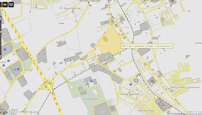 SM City Calamba Whats New Philippines - Calamba city map