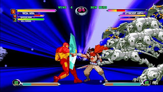 Marvell fighting game