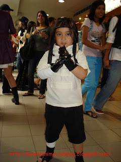 Naruto Cosplay kid