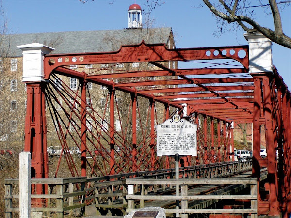 Bollman Iron Truss Bridge and Savage Mill