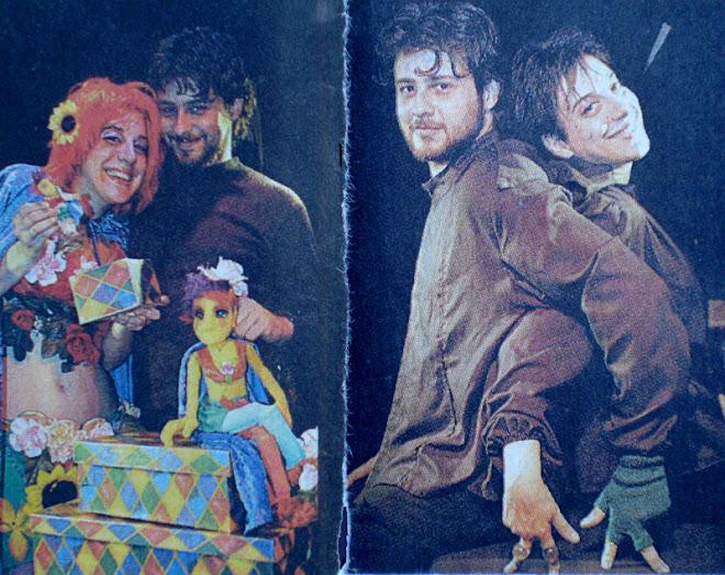 Paula y Esteban en la revista Semanario