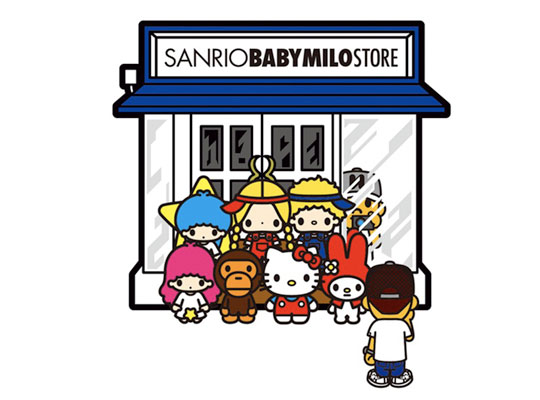 Collaboration items will feature SANRIO's popular characters - Hello Kitty,