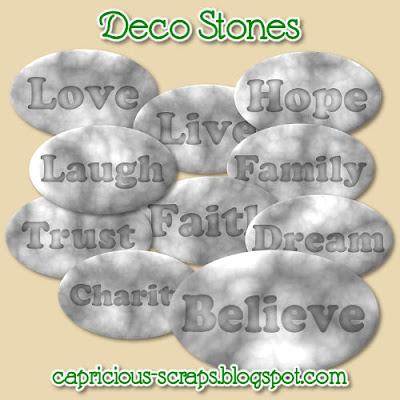 http://capricious-scraps.blogspot.com/2009/07/deco-stones.html