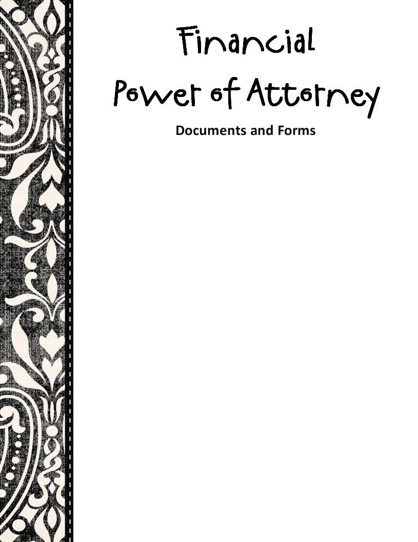 power of attorney instructions