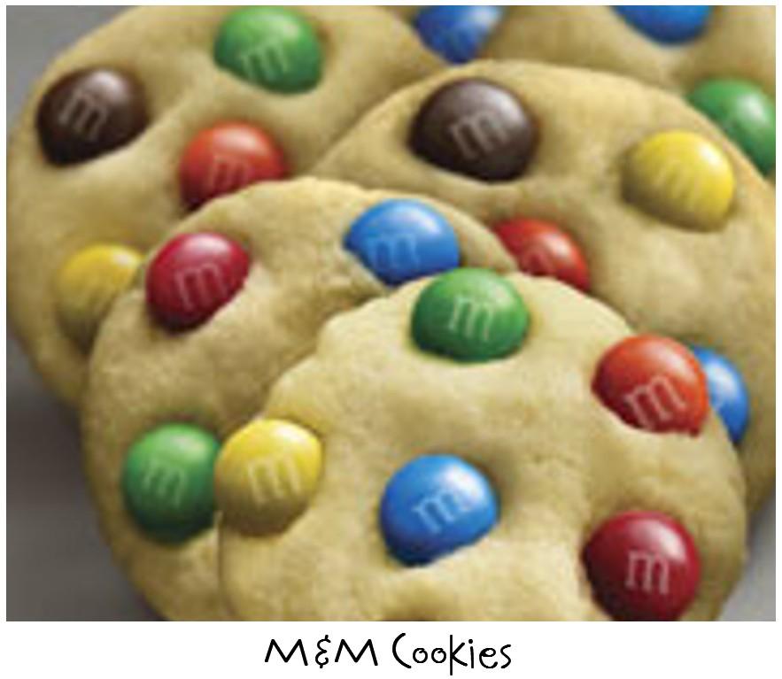 Prepared NOT Scared!: Mix Recipe #9: M&M Cookie Mix!