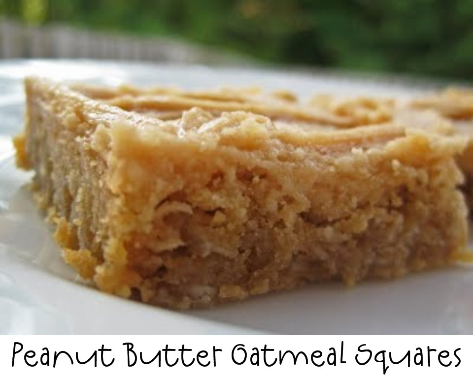 Chocolate Glazed Oatmeal Peanut Butter Bars Recipes — Dishmaps