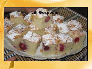 Articole culinare : Prajitura cu visina si mere