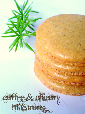 Coffee Chicory Macarons & A MAC attack!